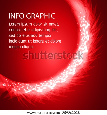 Dark red Light Abstract Technology background for computer graphic website internet and business. text box. Brochure. card.