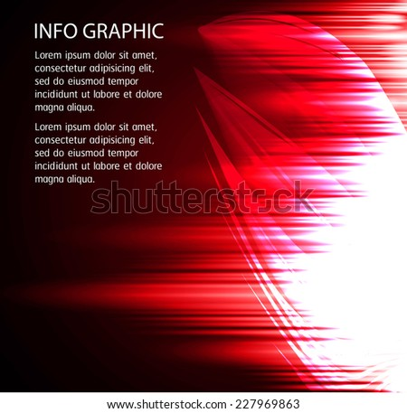 Dark red Light Abstract Technology background for computer graphic website internet. text box. Brochure. card. circuit.