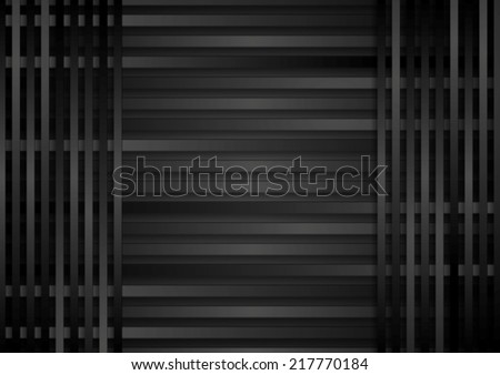 Dark stripes abstract background. Vector illustration
