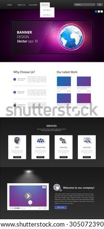 business website