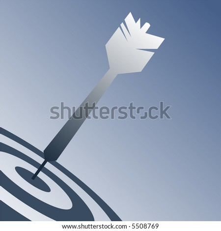 Dart Design - stock vector