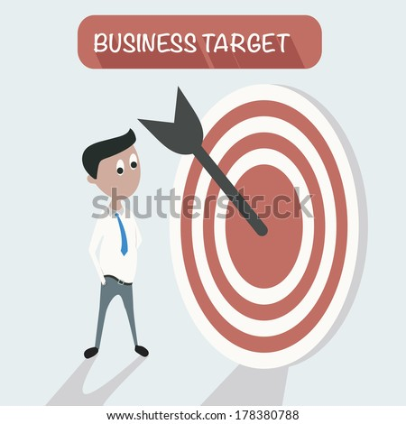 Dart,Goal,Target concept,vector - stock vector