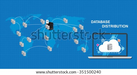 database distribution interconnected analysis business intelligence