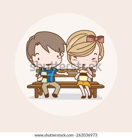 Dating animation