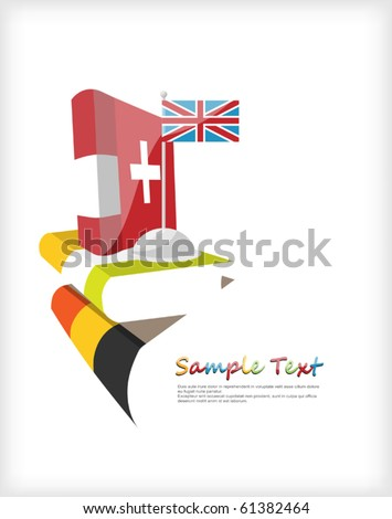 Day of European Languages, - stock vector