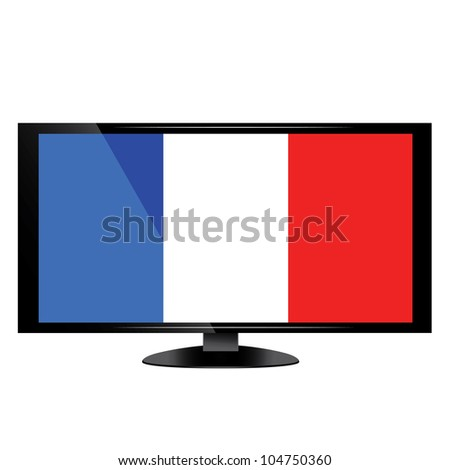 day of France - stock vector