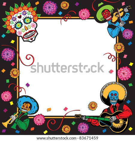 Day of the Dead or Cinco de Mayo Party Invitation