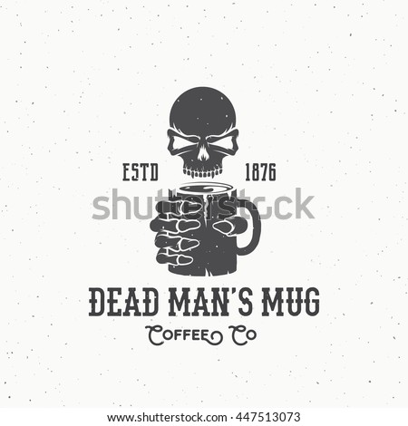 Skeleton holding on vintage microphone