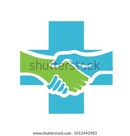 Deal Health Insurance Logo Vector Stock Vector 1012442983 Shutterstock