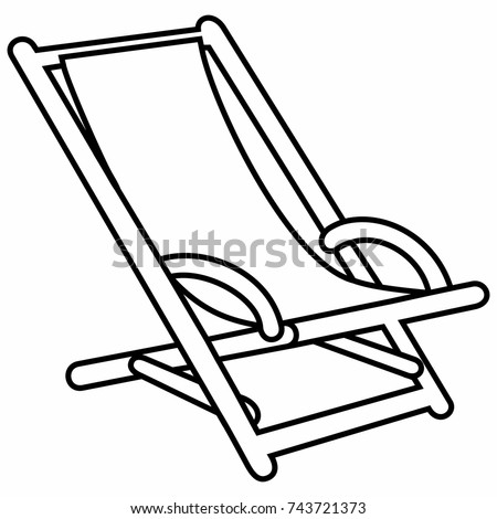 Deck Chair Folding Lounge Outdoor Wood Beach Pool Rest
