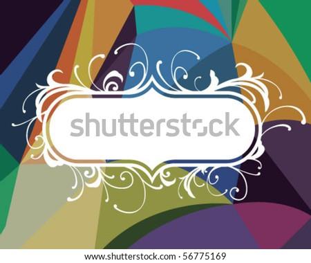 decorative. - stock vector