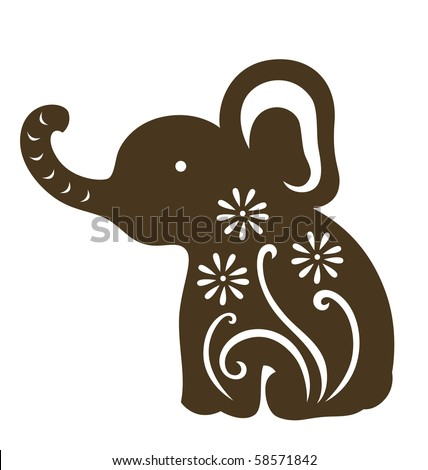 Stock Images similar to ID 2539243 - elephant silhouette