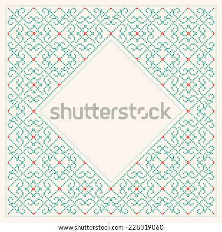 Decorative background - stock vector