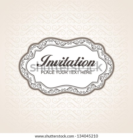 Decorative banner - stock vector