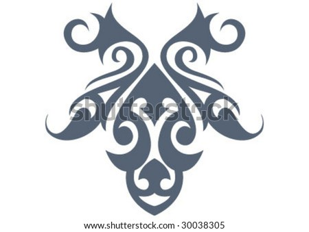 Decorative border and very nice texture design - stock vector