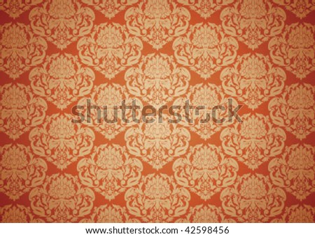 Decorative border and very nice texture design