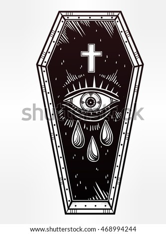 coffin drawing template coffin drawing template at getdrawings com