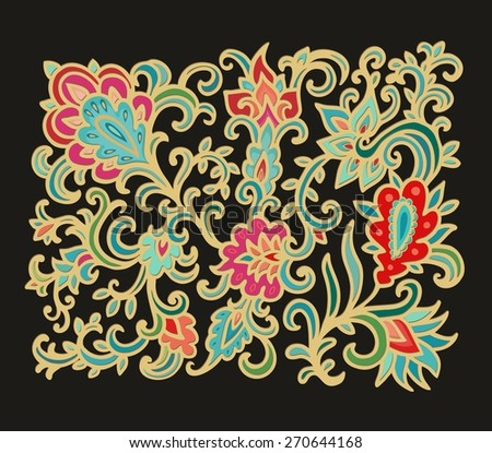 Decorative composition - stock vector