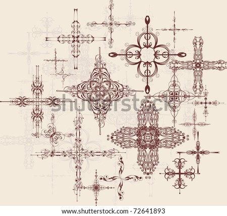 decorative crosses