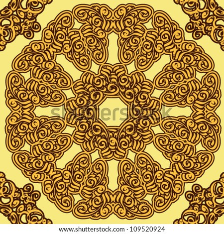 decorative eastern background. vector illustration