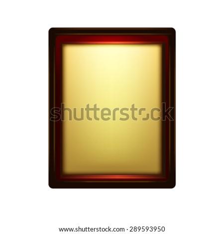 Decorative frame. Vector - stock vector