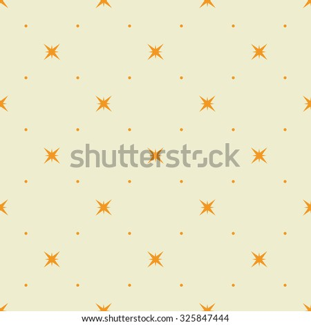 Decorative geometric seamless pattern background. Vector illustration.