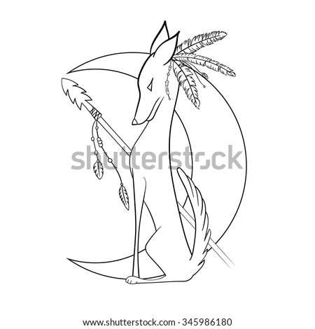 Stock Illustration Head Wolf Illustration Realistic Style Vector Illustration Image49727062 besides Cool Things To Draw On Paper together with 2008 09 01 archive together with Search Illustrations likewise Stock Vector Outlined Baby Elephant. on wolf helicopter