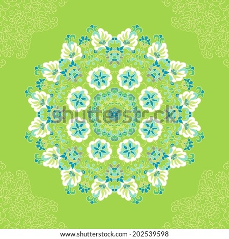 Batik pattern Stock Photos, Illustrations, and Vector Art