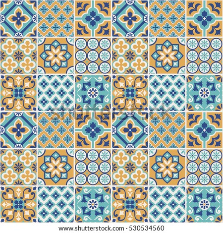 decorative tile pattern design vector illustration - Decorative Tile