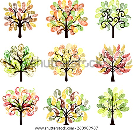 Decorative tree collection