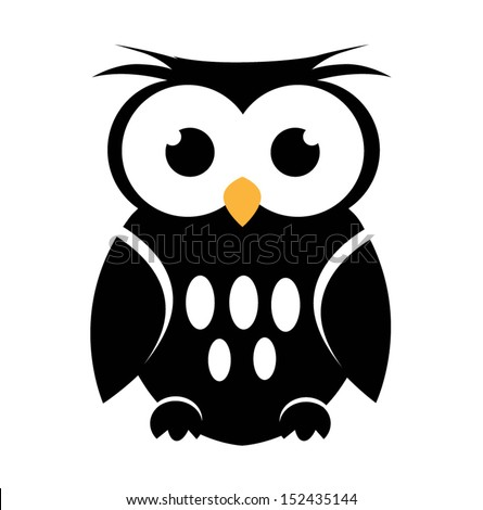 Owl Head Silhouette Vector Owl Eyes Stock Images,...