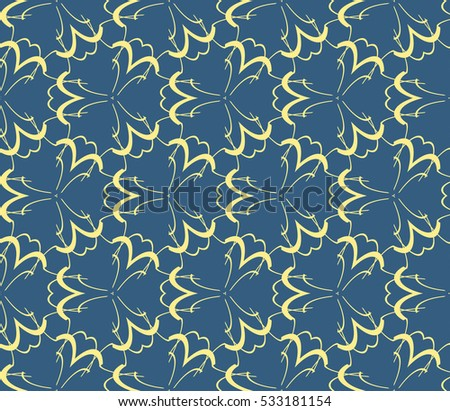 Decorative wallpaper design in shape.