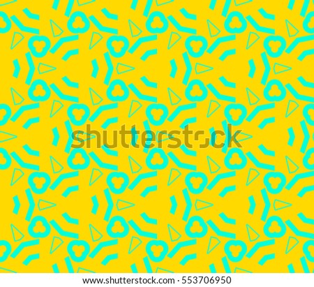 Decorative wallpaper design in shape.Vector seamless pattern.