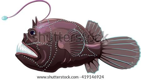 Angler Fish Illustrati...