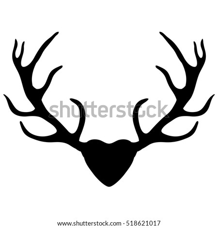 Geometric Deer Head Wall Sticker Geometry Animal Series Decals 3d Vinyl Wall Art Custom Home Decor Size 51x86 Cm in addition Contemporary Dancer Silhouette moreover Rivers further Antlers isolated also Antler. on cartoon deer clip art