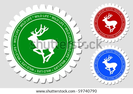 Deer Sign Labels