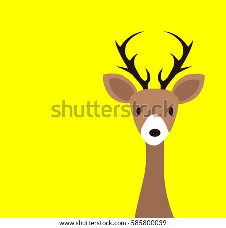 Deer Vector Design Kid Print Stock Photo (Photo, Vector ...