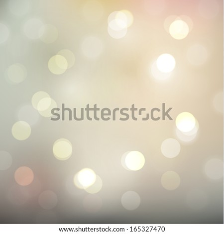 Defocused lights on pastel background - eps10 - stock vector