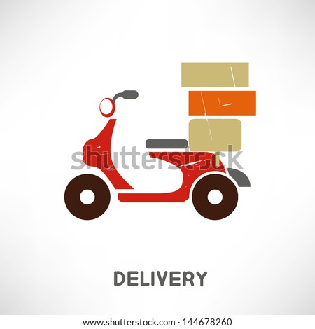 pizza delivery motorcycle. Black Bedroom Furniture Sets. Home Design Ideas