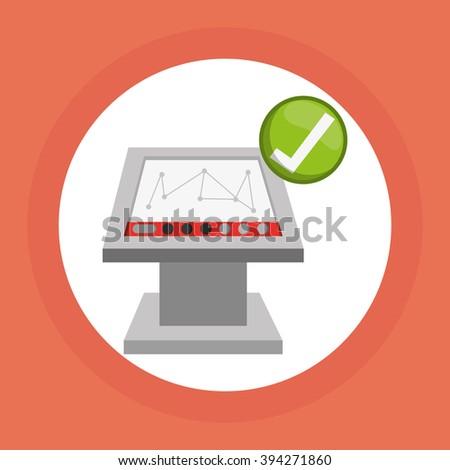 Delivery icon design - stock vector