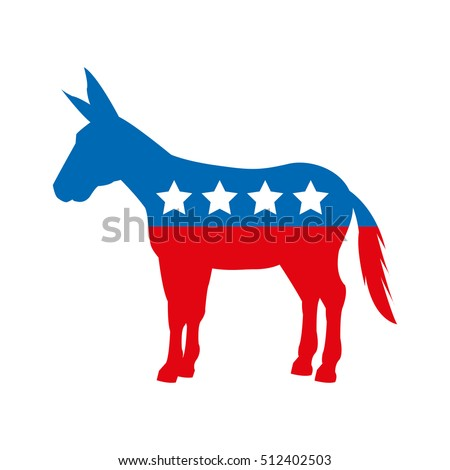 Clip Art President with Democratic Party