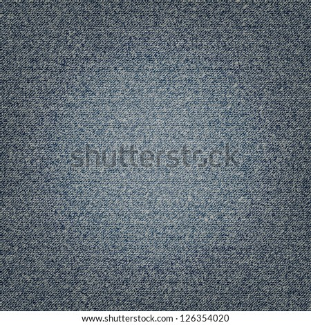 Denim background in vector EPS 10. - stock vector