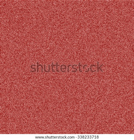Denim Texture Seamless Vector in Red