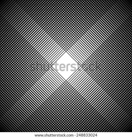 Dense grid background - stock vector
