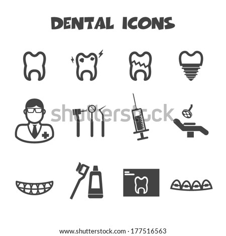 Dentist Icon Stock Images, Royalty-Free Images & Vectors ...