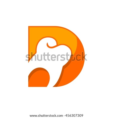 Dental Logo Design Stock Vector For Dentist Clinic With Abstract Tooth