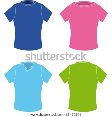 design a t-shirt for women with various types of cleavage