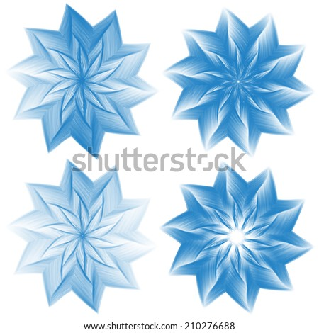 design abstract elements for diploma or certificate - stock vector