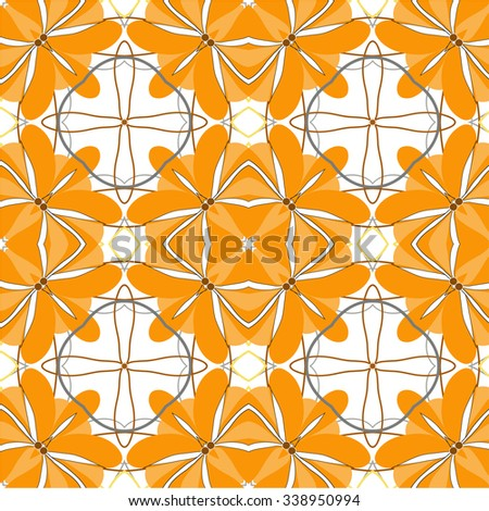 design art flower abstract beauty backgrounds beautiful nature decoration floral vector fall - stock vector