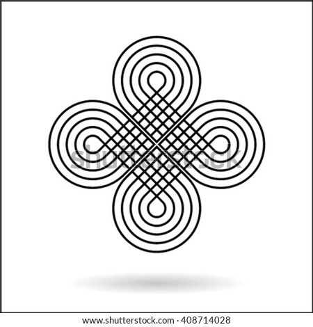 Design backdrop. Abstract monochrome background. No gradient - stock vector